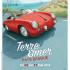 Affiche format A3. Création d'une illustration pour deux affiches - modification de la teinte de la voiture.