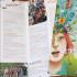 Dépliant de saison 6 volets. Format fermé 100 x 297 mm, format ouvert 600 x 297 mm. Création de l'illustration de couverture, conception graphique, mise en page.